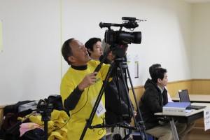 当日は調布が誇る市民動画メディア「調布市民放送局」さんに記録をお願いしました。